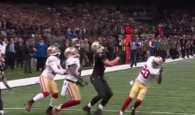 Jimmy Graham Pass Interference Call on Hail Mary Screws Saints, Saves 49ers (Videos)