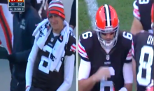 Here's Johnny Football Dancing on the Cleveland Sideline (Video)