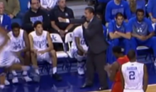 Let's All Watch John Calipari Dance During UK's Win Over UT-Arlington (Video)
