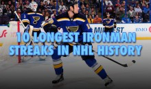 10 Longest Ironman Streaks in NHL History