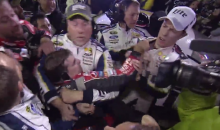 NASCAR Fight! Brad Keselowski and Jeff Gordon Brawl After AAA Texas 500 (Videos)