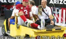 9 Worst NFL Injuries So Far in 2014