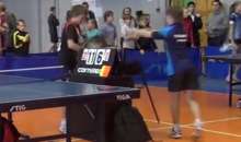 Ping Pong Fight! Kid Loses Match, Randomly Attacks Umpire (Video)