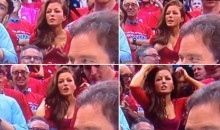 Smoking Hot Clippers Fan On Air Reaction Is An Overnight Internet Sensation (Video)