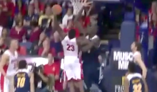 Watch Arizona's Rondae Hollis-Jefferson Dunk Over UC Irvine's 7'6″ Mamadou N'Diaye (Videos)