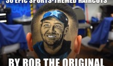 30 Epic Sports-Themed Haircuts by Rob the Original