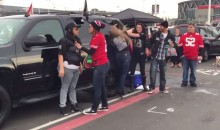 Check Out This 49ers-Raiders Chick Fight During Sunday's Tailgate (Video)