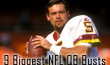 9 Biggest NFL QB Busts