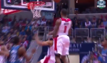 Andre Miller Putback Gets Denied by the Rim (Video)