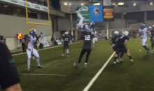 Bothell H.S. (Washington) QB Flips for a TD in Championship Game (Video)