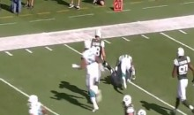 Cameron Wake Hits Geno Smith With a Bone-Crushing Tackle (Video)