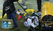 Casey Hayward Tackle Leads Him into Reggie Bush, Then a Heater (Video)