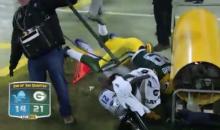 Casey Hayward Tackle Leads Him into Reggie Bush, Then a Heater (Video)