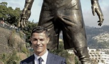 Check Out the Bulge on This Cristiano Ronaldo Statue (Pics)