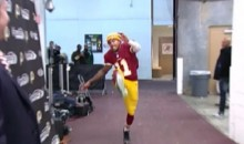Watch DeSean Jackson Mock the Eagles With a Post-Game Kick (Video)