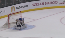 Check Out the Crazy Bounce on This Dwight King Goal (Video)