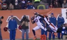 This Emmanuel Sanders One-Handed Catch Was Pretty Impressive (Video)