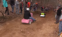 Extreme Barbie Jeep Racing Is the Dumbest Thing You'll See This Year (Video)