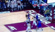 Florida Player Jacob Kurtz Scores the Winning Basket for Florida State (Video)