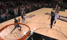Buzzer-Beaters from Gasol and Duncan Highlight Grizzlies-Spurs Triple-Overtime Thriller (Video)