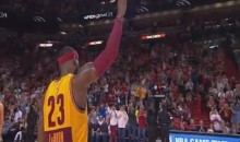 Heat Fans Cheer LeBron James During Return to Miami (Video)