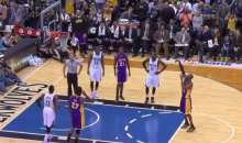 Here's the Point That Let Kobe Pass MJ on the All-Time Scoring List (Videos)
