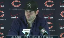 Jay Cutler Press Conference was Awkward When No One Showed Up (Video)