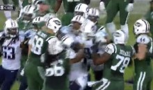 Jets-Titans Brawl After Geno Smith Gets Punched in the Face (Video)