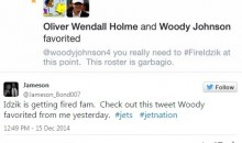 Jets Owner Woody Johnson Favorites Tweet Asking to Fire GM John Idzik (Pic)