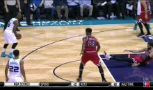 This Kemba Walker Crossover Forces Nikola Mirotic to Take a Seat (Video and Tweet)