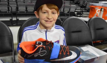 Kevin Durant Gives Shoes to a Young Fan Who Had His Stolen Off His Feet (Video)