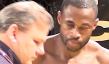 MMA Fighter Loses His Prosthetic Eye During A Fight (Video)