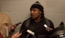 Marshawn Lynch Thanks Reporters During Latest Post-Game Interview (Video)