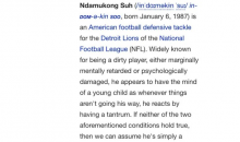 Ndamukong Suh Wikipedia Page Gets Update After Aaron Rogers Stomp