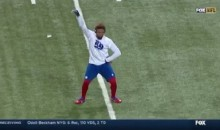 Odell Beckham PreGame Routine Includes Dancing, More Great Catches (Videos)
