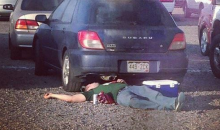 Passed Out Colorado State Fan Took the Easy Way Out (Pic)