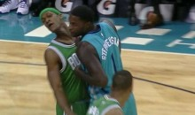 Rajon Rondo Elbowed Lance Stephenson, Who May Have Flopped (Video)