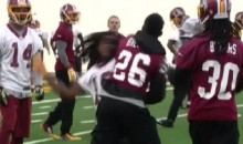 Redskins Practice Fight: Bashaud Breeland and Andre Roberts Throw Haymakers (Video)