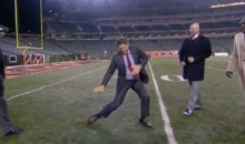 Steve Young Does Ray Lewis Dance on ESPN's MNF Pregame (Video)