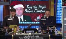 The Frank Caliendo 'Night Before Christmas' Spoofs 10 ESPN Stars (Video)