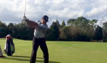 Feast Your Eyes on the New Tiger Woods Swing (Video)