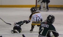 Tyke Hockey Player Helping Opponent Will Melt Your Heart (Video)