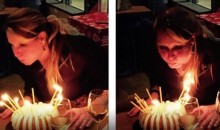 Urban Meyer's Wife Sets Her Hair on Fire on Her Birthday (Pic)