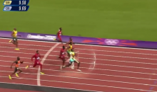 Usain Bolt Goes Back to the Future in This Hilariously Dumb Clip (Video)