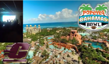 Central Michigan Players Learn They're Going to the Bahamas Bowl (Video)
