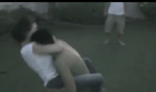 Watch Some Girl Grapple a Man Into Submission, Non-Sexually (Video)