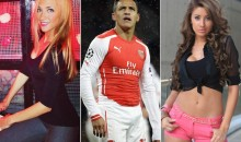 Alexis Sanchez Tries to Have Two Hot Girls at Once, Now Has Zero (Gallery)