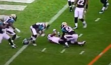 Texans' Andre Johnson Knocked Unconscious, Loses Helmet Following Hit vs. Jags (Video)