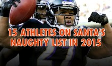 15 Athletes on Santa's Naughty List in 2014