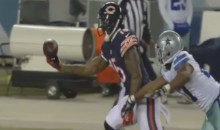 Brandon Marshall Makes Miraculous One-Handed Catch Before Promptly Getting Injured (Video)